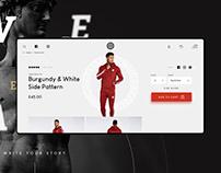 Legend London - website for fashion brand