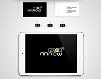 NeonArrow Branding Identity