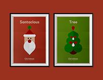Christmas Minimalist Poster