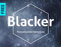 Blacker creative presentation