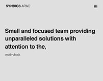 SYNDIC8 / APAC - Digital Marketing company