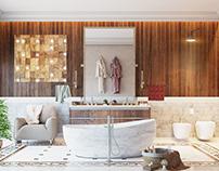 Modern Bathroom_1 (Simulation)