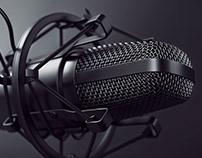 Microphone Set CGI