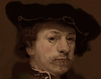 Painting on Smartphone with stylus