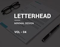 Minimal Letterhead vol-04