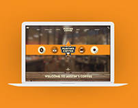 Austin's Coffee: WEB-RE-DESIGN