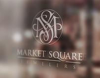 Market Square Jewelers Logo & Web Design