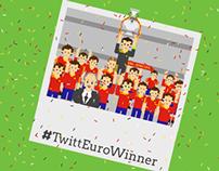Twitt Euro Winner
