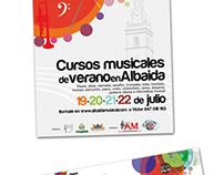 Cartelleria curset de musica (2011)