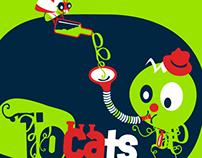 Logo per a la txaranga Tocats (2011)