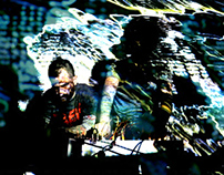 LIVE VISUALS @ OTTO LAB (2012)