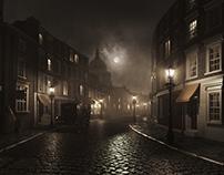 360° Victorian Street Scene