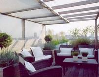 Penthouse Terrace, Wapping, London