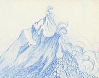 Sketchbook Népal and Vietnam
