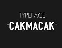 Cakmacak Typeface