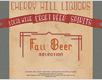 Cherry Hill Liquors Website Redesign