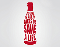 Lifestyle On Kloof Blood Drive Campaign Posters