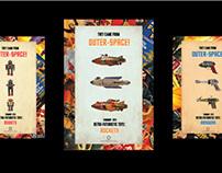 Smithsonian Poster Series: Retro Futuristic Toys