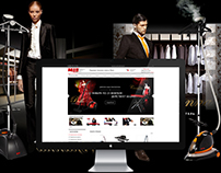 "Responsive web-design for shop ""MIE Lux"""