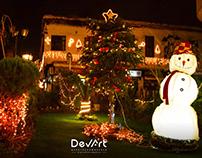 Christmas Damascus