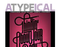 ATYPEICAL: a Typography magazine