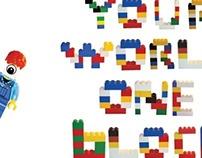 QC Lego Poster - Type Design