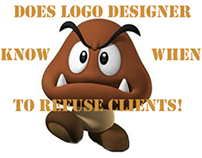 Does Logo Designer Know WHEN to Refuse Clients!