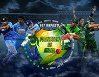 Pakistan India Cricket Series 2012
