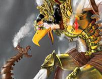 Steampunk Garuda