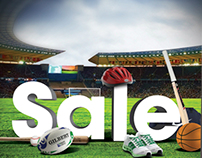 Go Sport Sale Advert and Poster