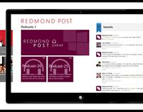 Redmond Post Concept App design