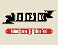 The Black Box -Retro Banner font-