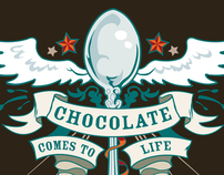 Life Chocolate Oat Crunch Cereal Graphic
