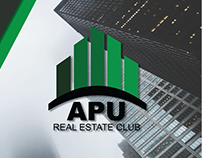 APU Real Estate Club (Logo & Print Design)