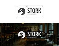 Stork - Restaurant and Bar | Logo and identity design