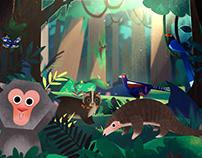 台中花博森林園區.森隆活虎館-「二次森林的奇幻冒險」