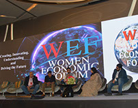 Kartikeya Sharma of iTV at Women Economic Forum 2017