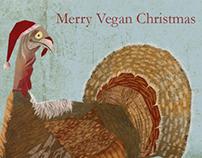 Vegan Christmas card