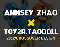 AnnseyZhao x Toy2r x Taodoll crossover design.