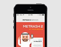 Metrash 2 App Redesign
