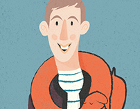 Portrait of Jean Jullien