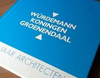 Jubileumboek Würdemann Koningen Groenendaal Architecten