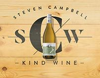 Campbell Kind Wine Brand Creation and Label Design