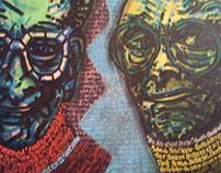 """Contemporary Art: """"Tribute to F.Stella & P.Johnson"""""""