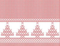 Christmas Cards - Stationery, Icon & Pattern Design