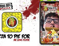 Zombie Bob's Pizza Snapchat AR Filter