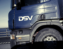 Corporate & Brand Identity - DSV, Denmark