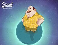 Ubaldo - Ouro Verde - Animação 2D
