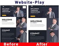 Website-Play Redesign