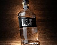 Водка Бурлак, концепт упаковки. Vodka Burlak. Concept.